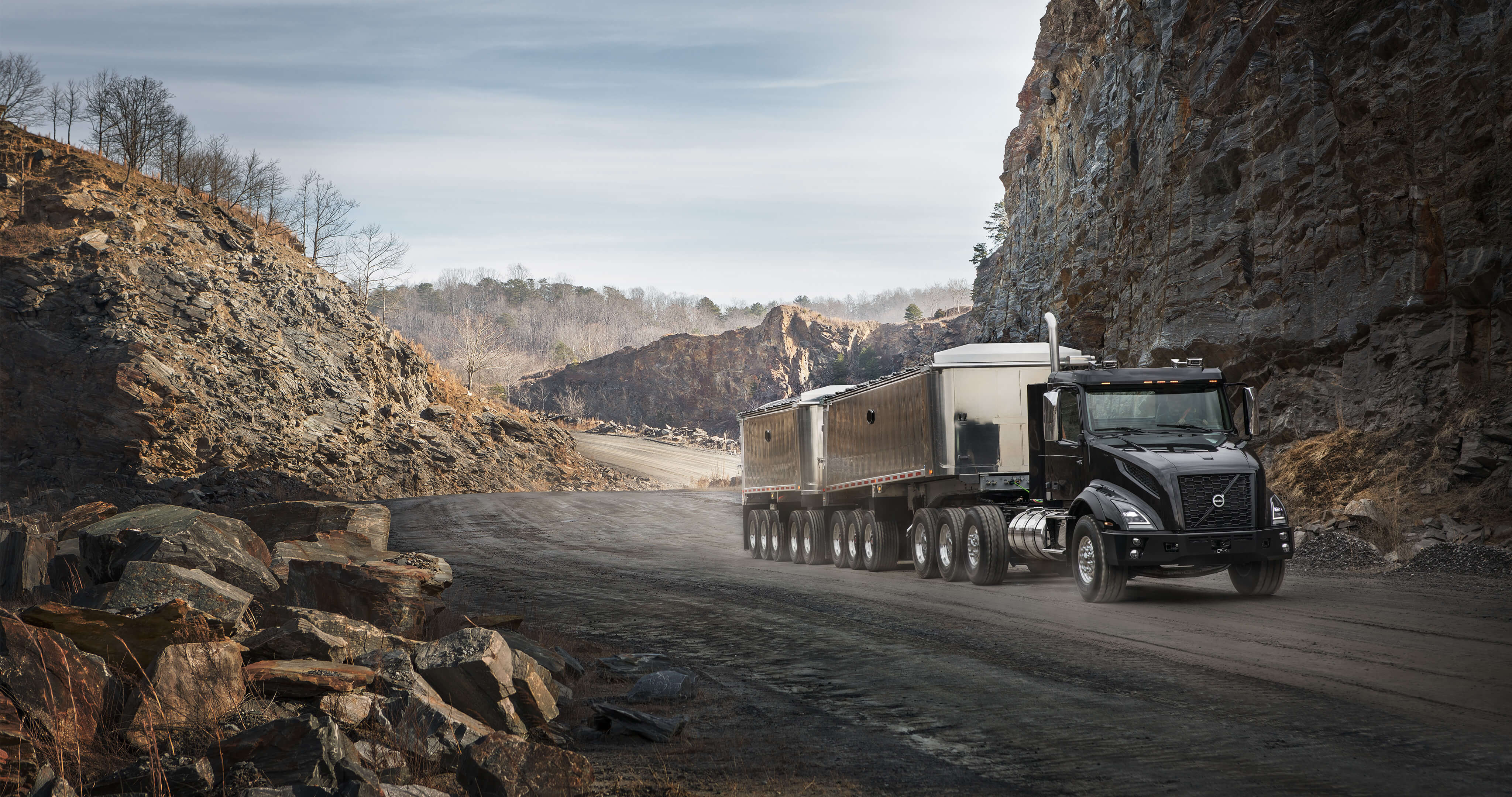hight resolution of the new volvo vnx