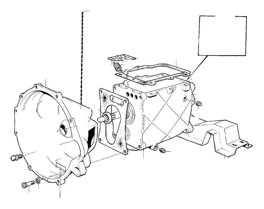 1978 Volvo 240 Speedometer gear. Genuine Classic Part