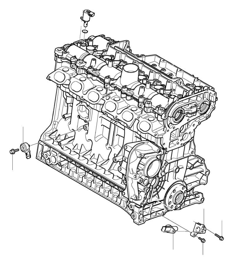 2010 Volvo XC90 3.2l 6 cylinder Engine Camshaft Position