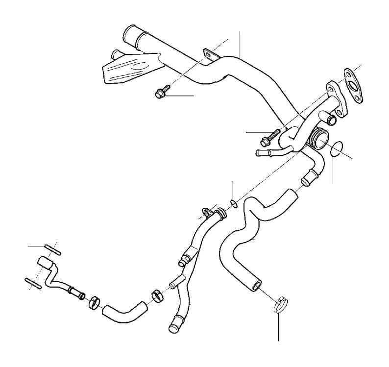2016 Volvo V60 O-ring. Thermostat, Pump, Coolant