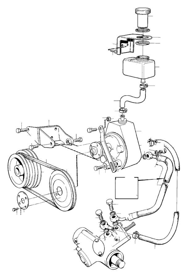 Volvo 240 Steering gear, exchSTEERING BOX, EXCH. PCS, REPL