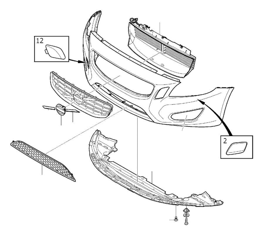 Volvo S60 Air guide. Body, Bumper, Front, Interior, DESIGN