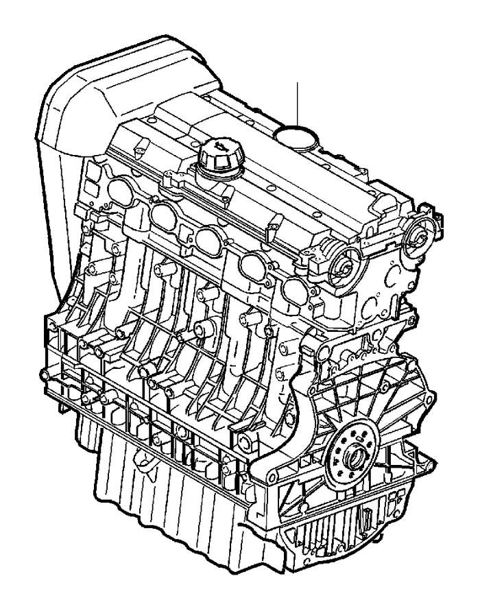 Volvo C70 Engine, exch. Genuine Classic Part. Engines