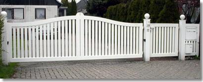 Zaun Aus Aluminium Muster