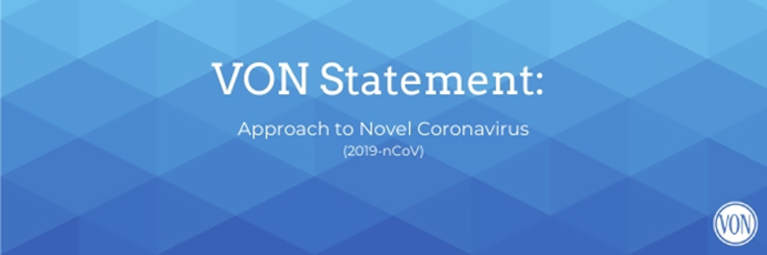 VON Statement: Approach to Novel Coronavirus (2019-nCoV) | VON
