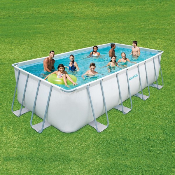 Summer Escapes Frame Pool 427x244x91cm Rahmen Swimming Familien Schwimmbad
