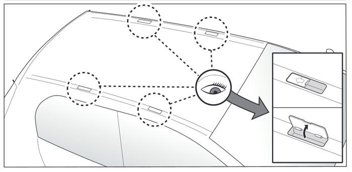Portapacchi Menabo Tema Fiat Multipla (Van 5 Porte) dal
