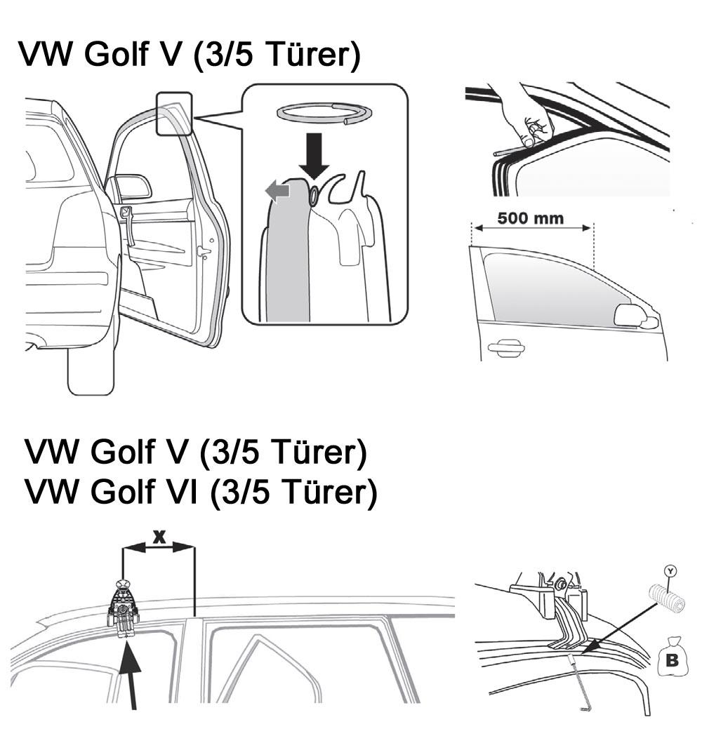 Baca Aurilis Original VW Golf VI (3/5 Puertas) 09/2008