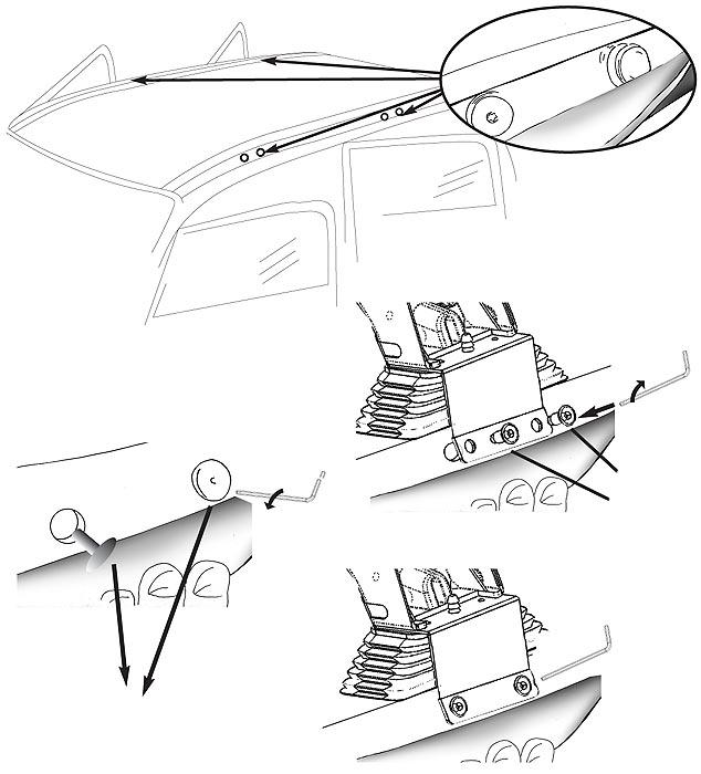 Dachträger AURILIS ORIGINAL DACIA Logan (Stufenheck 4