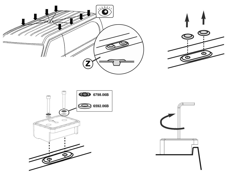Dachträger Dachpackträger Aurilis Pro für Renault Master