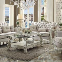 Formal Living Room Set Design Malaysia Style Von Furniture Versailles In Ivory