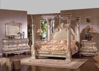 Imperial Antique White Wash Bedroom Set | Von Furniture