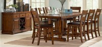 Zanesville Extra Long Pub Table Set | Von Furniture