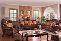 Von Furniture | Lockhart Leather Living Room Set