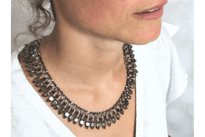 "Collier ""LilaLiebe"" in Variante Drei"