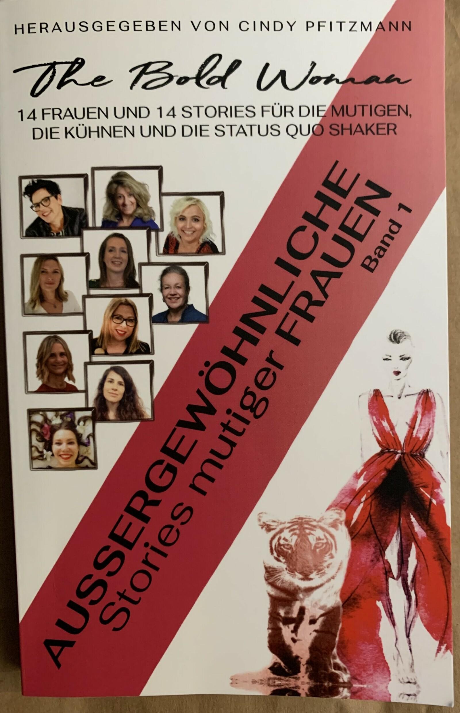 "Read more about the article Als Co-Autorin im neuen Buch von ""The Bold Woman"""