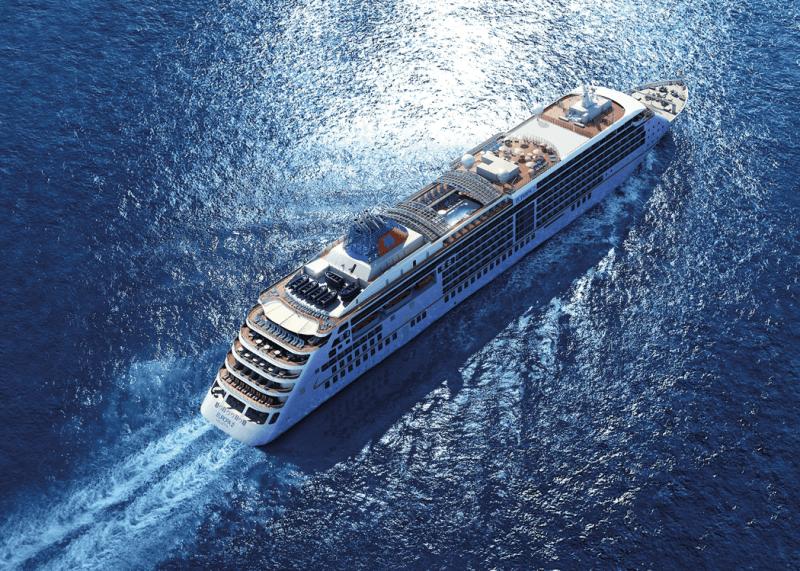 VONsociety: Cruise, Europa 2, Vogelperspektive