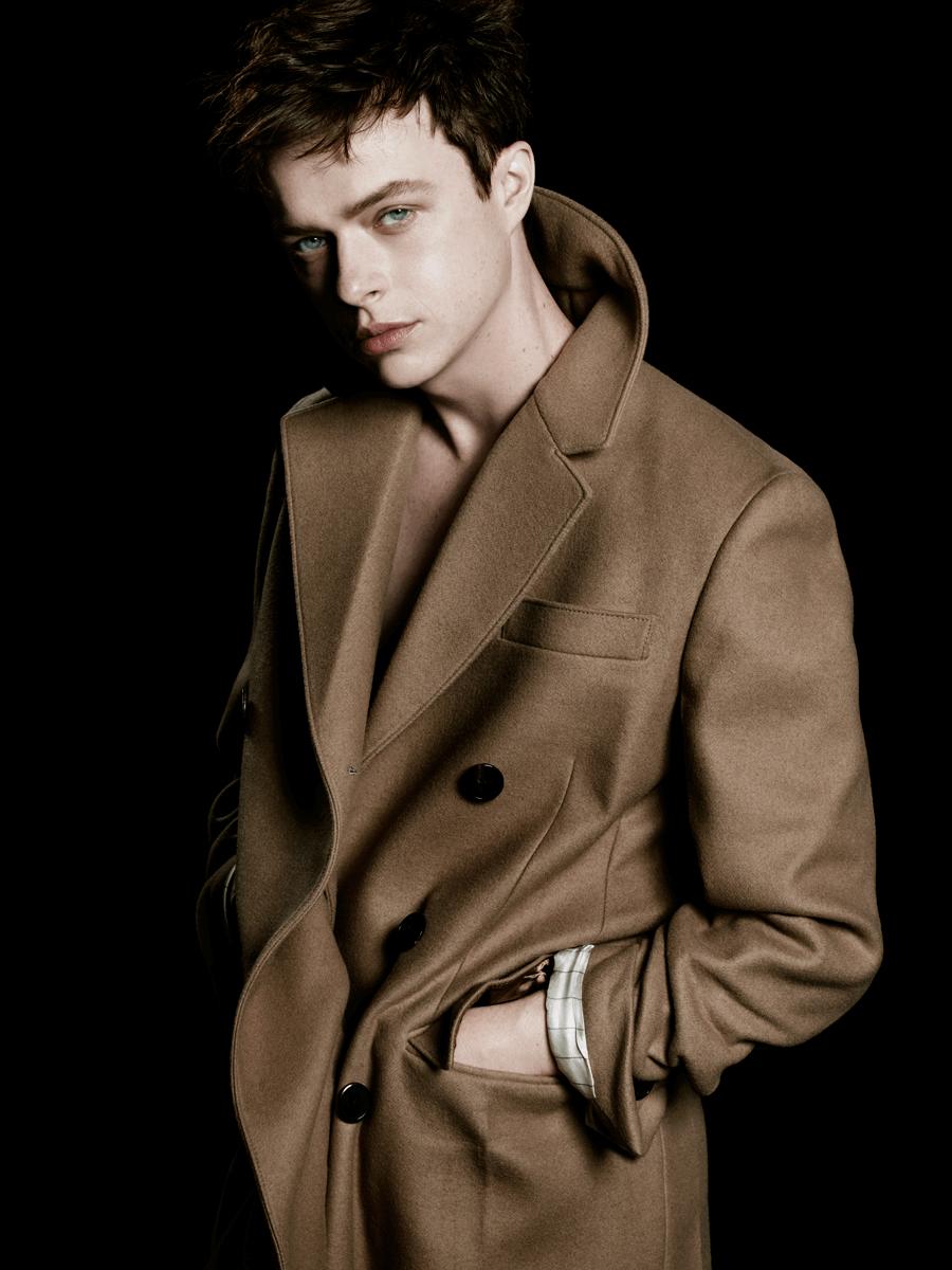 VONsociety: Prada L'Homme, Dane DeHaan © Steven Meisel