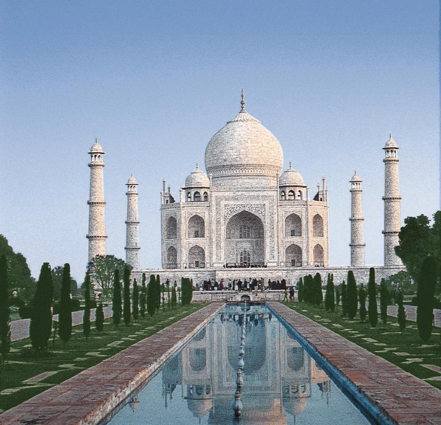 VONsociety: IN2BALANCE, Taj Mahal © Hapag-Lloyd Cruises