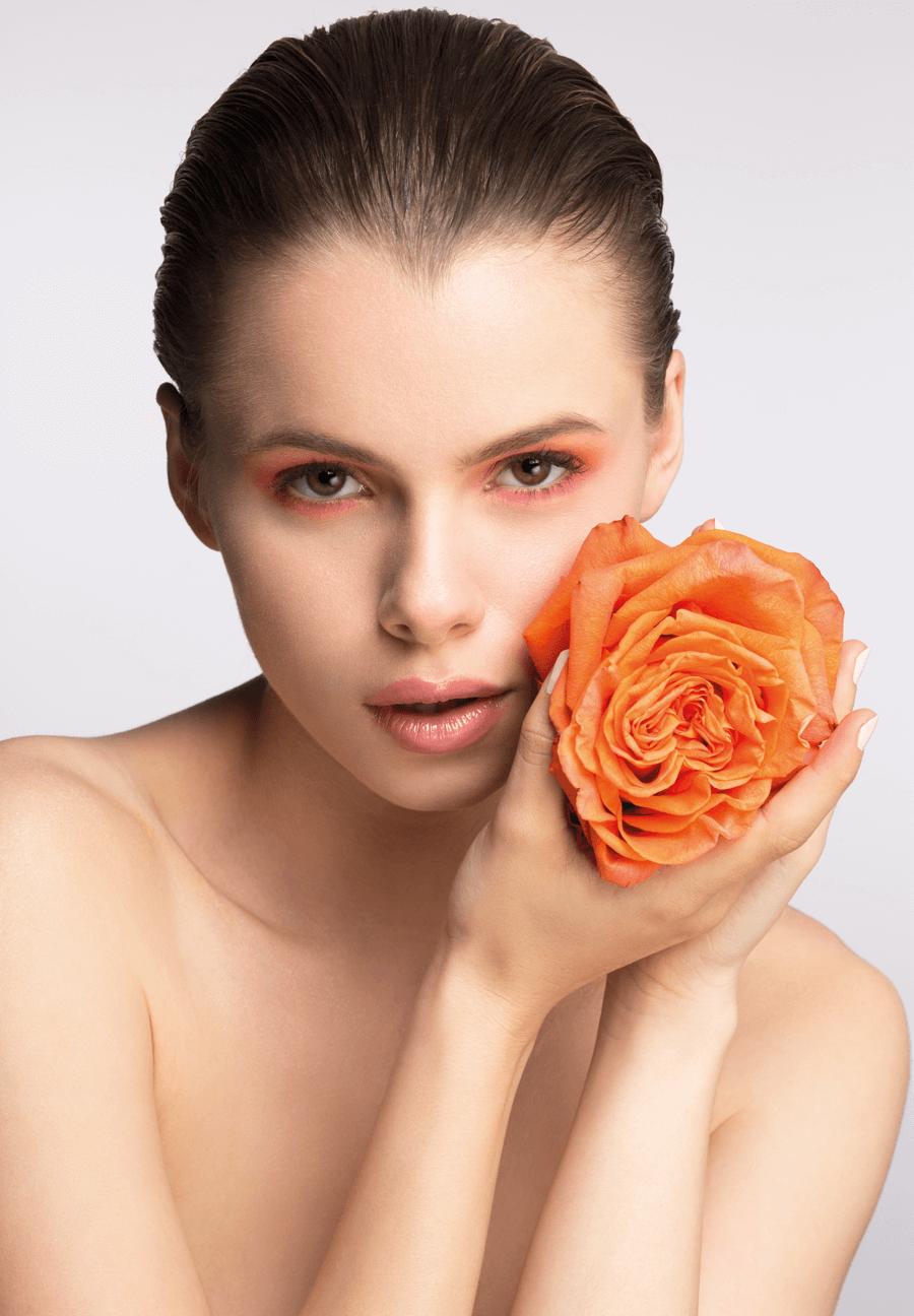 VONsociety: Making of Beauty Shooting Spring Look 2017, Model Laura M., Foto Katharina Harris