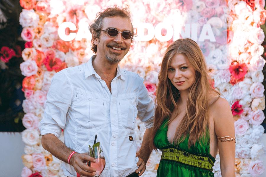 VONsociety: Calzedonia Beach Party 2017 Tel Aviv Beach; Christof & Zoe Straub © Philipp Lipiarski