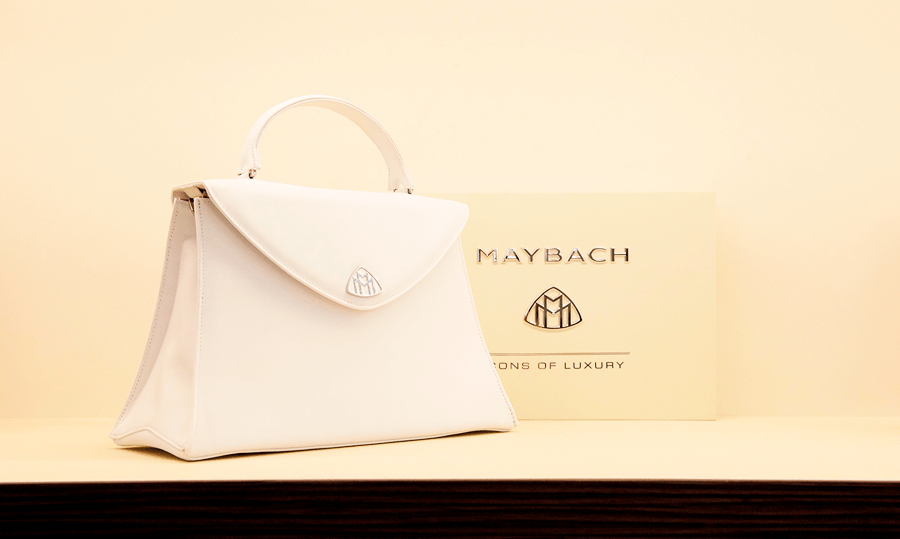 VONsociety: Event mit MAYBACH Brillen & feinem Leder, MAYBACH Leder Handtasche © Maybach Luxury