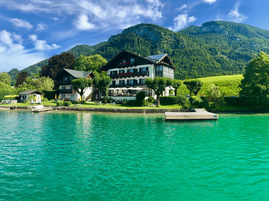 VONsociety: Wolfgangsee Salzkammergut, Hotel Gasthof Falkenstein am Wolfgangsee