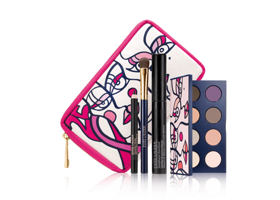 VONsociety: Pink Ribbon Limited Editions,ESTÉE LAUDER Pink Ribbon Knockout Eyes Collection