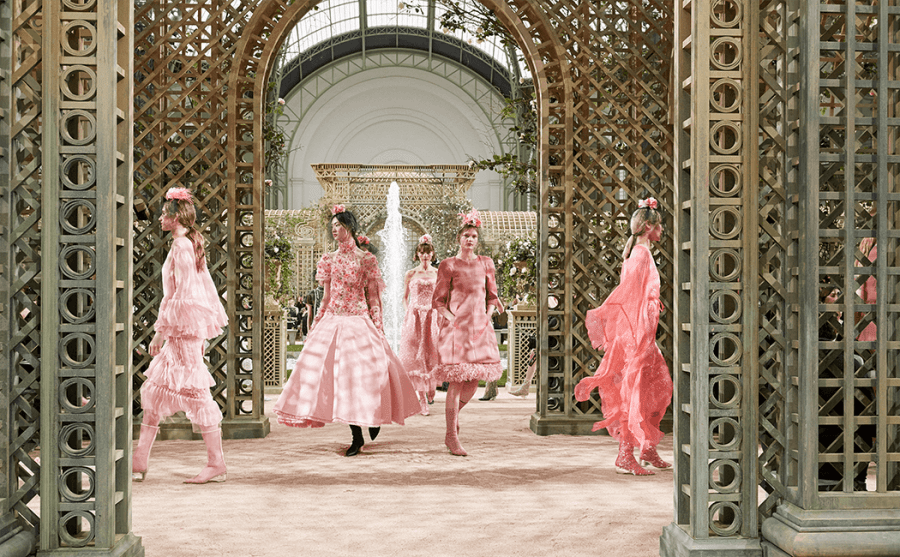 VONsociety: CHANEL Haute Couture Show Spring Summer 2018