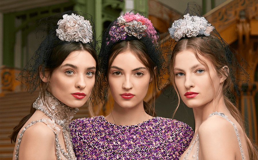 VONsociety: Backstage CHANEL Makeup Haute Couture Show Spring Summer 2018