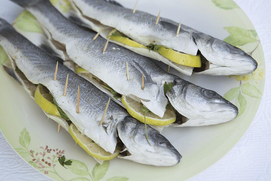 VONsociety: Italian Night, Branzino, Fisch, Buratti, © Katharina Harris