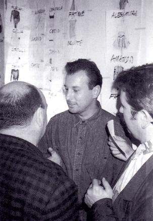 VONsociety: Helmut Lang, Backstage bei der Modeschau in Paris 1986