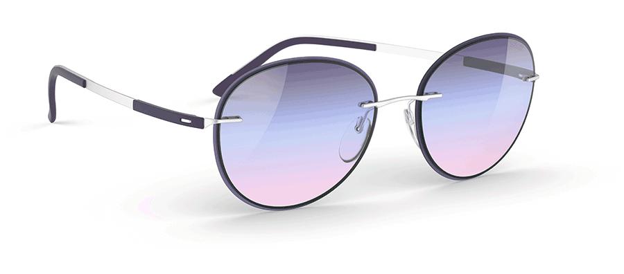 VONsociety: Nachhaltig und aus Österreich: Sonnenbrille Accent Shakes Tricolor Lavender von Silhouette