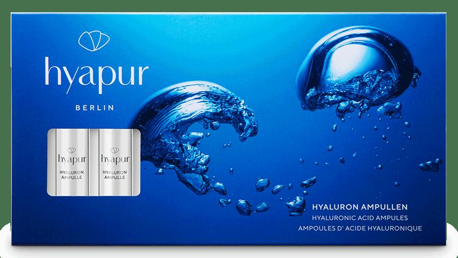 VONsociety: Hyapur Hyaluron Ampullen – Produktfoto © Hyapur