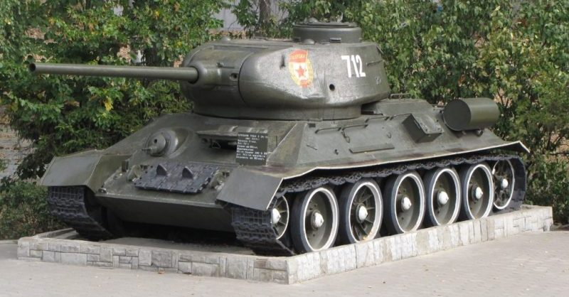 T-34/85 – Cenni storici (historical notes)
