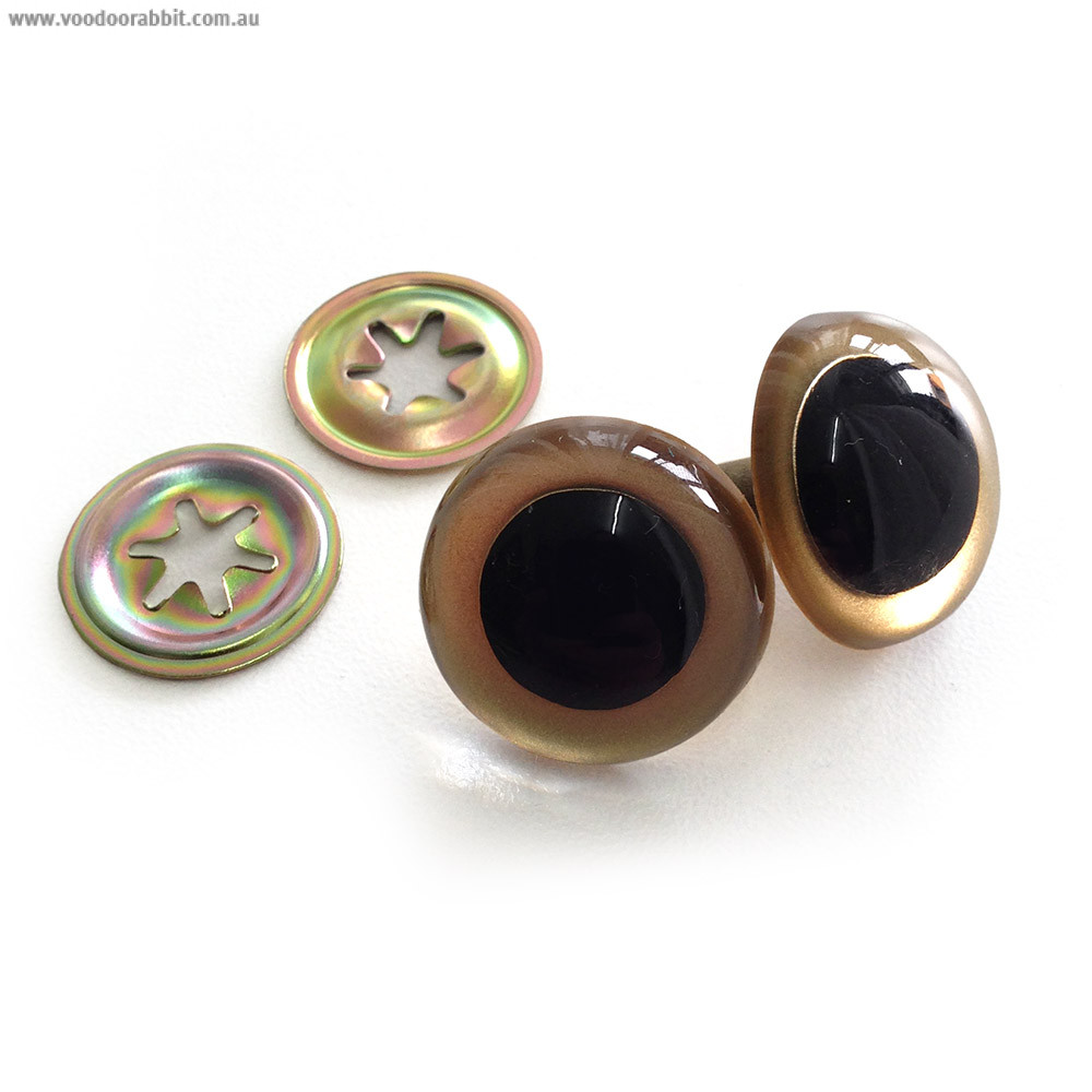 Gold Craft Eyes 21mm Plastic Eyes With Metal Washers For Making Soft Toys And Dolls Voodoo Rabbit Fabric And Bag Hardware Australia