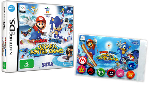 Mario and Sonic at the Winter Olympics