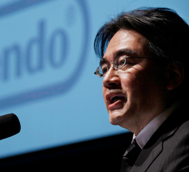 Iwata shares thoughts on third party support, won't cut staff in lean times
