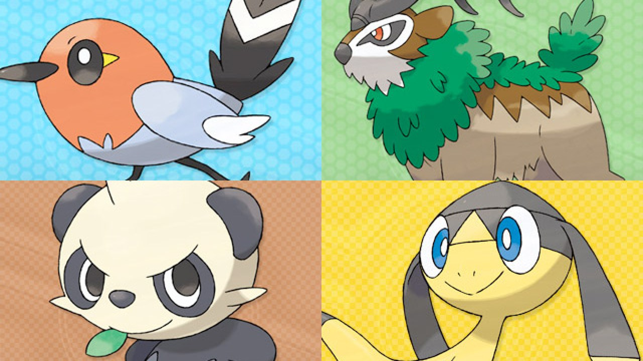 Pokemon X And Y Box Art And Region Map Revealed New Screenshots And Artwork Vooks