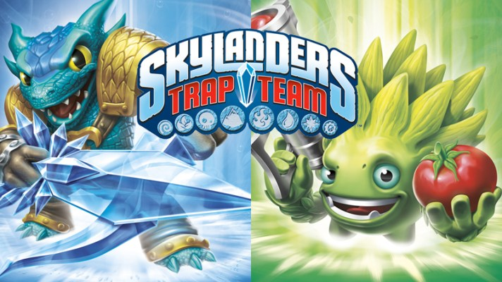 Skylanders: Trap Team on Wii comes with Wii U download code in Australia
