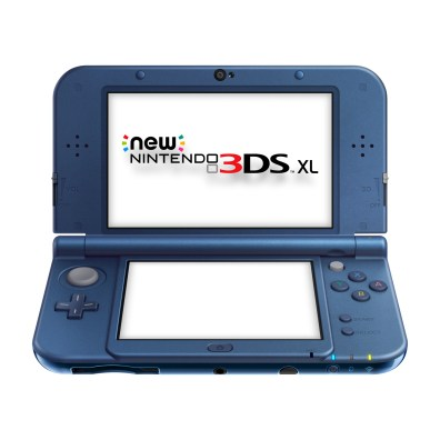 New Nintendo 3DS XL Metallic9 Blue