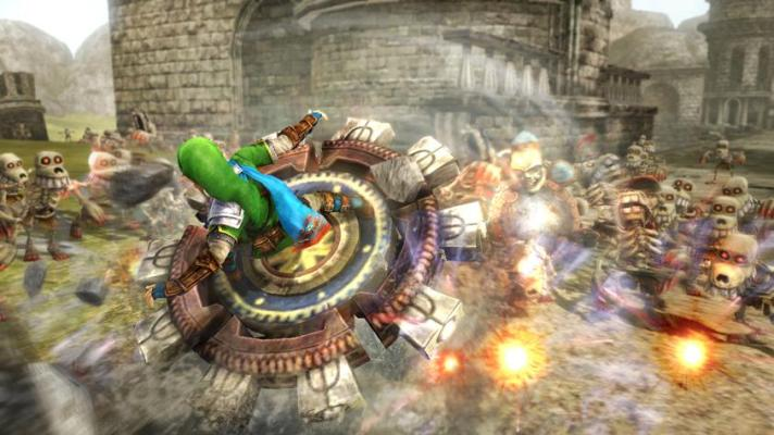 Link amiibo will unlock Spinner in Hyrule Warriors