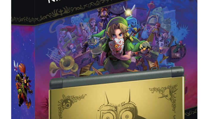 Majora's Mask 3D out February 14th along with Special Edition New 3DS XL