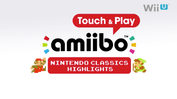 Sample classic Nintendo games with amiibo Touch & Play
