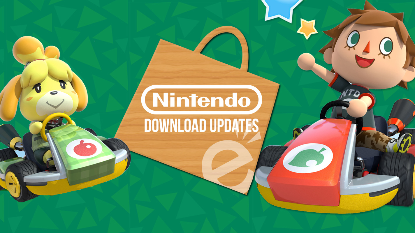 Australian Nintendo Download Updates 234 Kirby Crossing