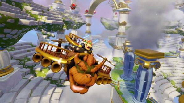 WiiU_SkylandersSuperChargers_screenshot_SuperCharged_Clown_Cruiser_2