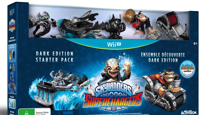 Skylanders SuperChargers Dark Edition announced with Dark Versions of Donkey Kong & Bowser