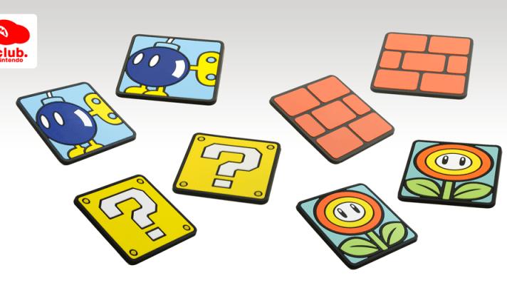 Super Mario themed coasters added to Club Nintendo Australia