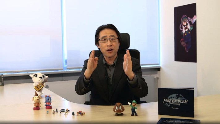 Nintendo of Europe President Satoru Shibata shares his holiday message