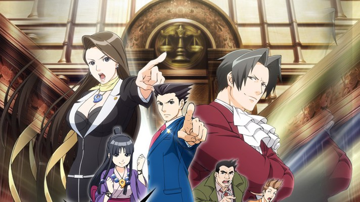 Ace Attorney anime debut now available to stream